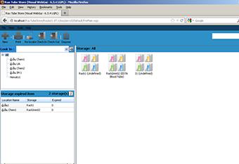 โปรแกรมบริหารจัดการการจัดเก็บสิ่งส่งตรวจ (Rax TubeStore)